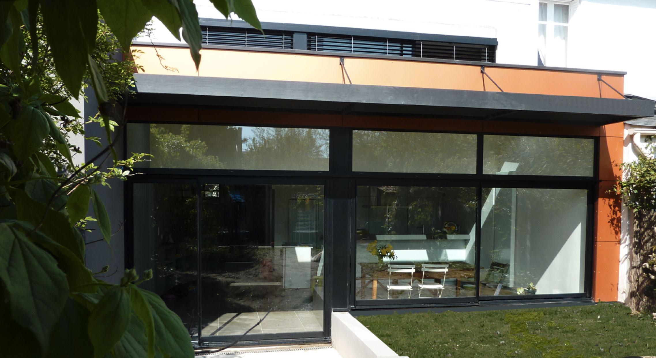extension g nantes a2architecture. Black Bedroom Furniture Sets. Home Design Ideas